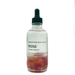 100% puros e naturais Rose Multi-Use Óleo Essencial Rose Corpo óleo de massagem Pétalas de Óleo Essencial