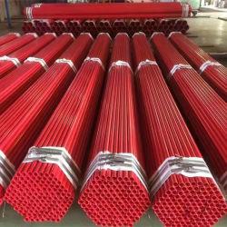 ASTM A795 antincendio Sch40 Ral3000-3001 verniciato rosso ERW Estremità con gola per tubo in acciaio MS