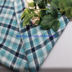 Venta caliente tramo algodón Spandex tejido Jacquard para camisa de vestir pantalones