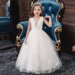 子供の衣服の在庫の子供の花のガウンの子供の衣類党摩耗党摩耗の服の子供の服装の女の子の服のイブニング・ドレスの実行服の女の赤ちゃん