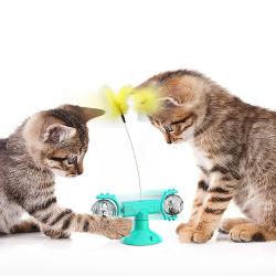 귀여운 고양이 실마리가 있는 회전하는 풍차 장난감 고양이 엔터테인먼트 제품