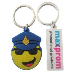 Custom 3D-мягкие резиновые Keychains ПВХ для поощрения подарки