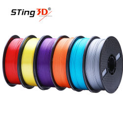 Groothandel Factory keurig wikkelen geen vervuiling Degratable1kg 1,75mm PLA + Filament van 3D-printer