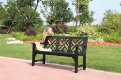 Parque de la banqueta de aluminio exterior silla Jardín mobiliario de patio de la banqueta