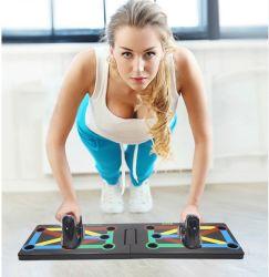 لوح تمارين الضغط مع تمرين لياقة بدنية لبناء الجسم لطباعة التعليمات أدوات نساء نساء [برب-وب] يقف ل [جم] جسم تدريب