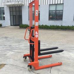 중국 Gp 드는 고도를 가진 유압 쌓아올리는 기계 1.5 톤 손 1.6 미터