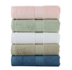 De in het groot Dobby van de Cotton van de Kleur van de Douane Super Zachte Stevige Kleur van de Badhanddoek van Terry Bamboo MultiBadhanddoek van het Hotel van de Luxe