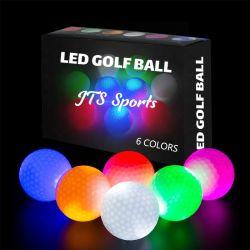 高品質長距離ナイト LED ゴルフライトボールが光っています Balls の注文の製造業者