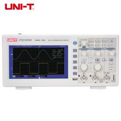 ذبذبات التخزين الرقمي من طراز Uni-T المباشر من المصنع 100 ميجا هرتز 1GS/s عارض الذبذبات الرقمي Utd2102cex