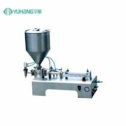 50-500mlハンド・ローションの表面クリームの液体石鹸のための半自動充填機
