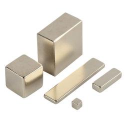 Kundenspezifischer Größen-Neodym NdFeB quadratischer starker Magnet mit Nickel-Plated