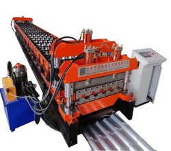 艶をかけられた機械を形作るロールを作る屋根瓦