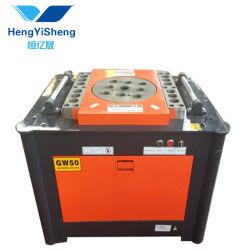 Hydraulische automatische runde Stahlstab-verbiegende Maschine/Stahlrebar-Bieger