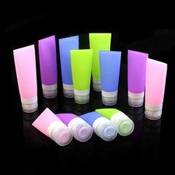 38/60 / 80ml de silicone de viagem do tubo garrafa de plástico
