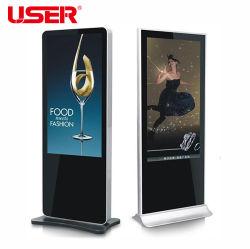 床置きの壁ビデオ屋外広告装置広告プレーヤー 43'' 、シボレー Captiva LCD スクリーンカー DVD プレーヤー
