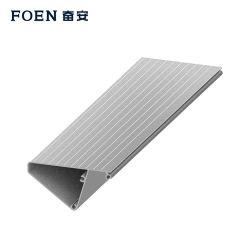 T5 en aluminium de série 6063/6061 Extrusion profiles pour la construction/décoration/industrielles avec les normes ISO