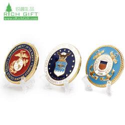 Free Sample Cheap Baseball joint de filature Décapsuleur Masonic Canada Armure de Dieu de métal blanc émail 3D de la Police militaire de la Marine Défi personnalisé Coin