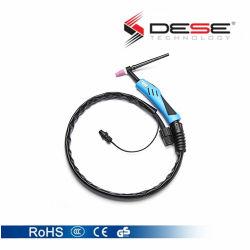 Refrigerados por Gas Antorcha de soldadura TIG para equipos de soldadura / Cable de soldadura