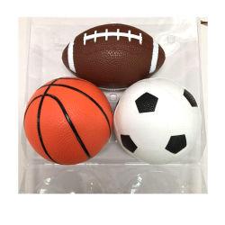 BSCI vierge ou de vérification 1 couleur ou d'impression logo coloré de tailles différentes écologique Kids de jouets en PVC imprimé personnalisé Mini ballon de sport