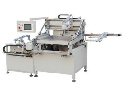 기계 패킹 레이블 실크 인쇄 기계 기계를 인쇄하는 기계장치 Hy-H56 레이블 패킹 인쇄 기계 실크 스크린을 인쇄하는 열전달 종이 자동적인 스크린