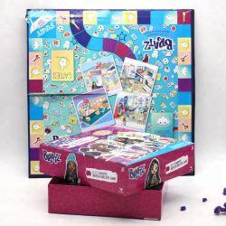 ورق بطاقات لوحة التصميم المخصص ألعاب الطباعة