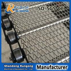 Fabricant de la Courroie convoyeur à chaîne Chaîne à mailles de la courroie du convoyeur
