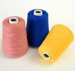 35% Ziege-Kaschmir gemischtes Kaschmir-Garn-Hand-Woven Kaschmir-Textilgarn