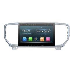 """"""" radio automatica Android 9 per KIA Sportage 2019 con controllo del volante di Bluetooth DSP 4G SIM di percorso di Carplay GPS"""