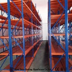 Течение долгого склада стальные или Полки для монтажа в стойку