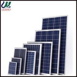 Haute efficacité panneau PV solaire 250W 255W 260W 265W 270W 275W 280wpoly panneau solaire cristallin