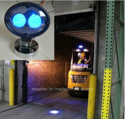 Mancha azul LED Aponte a luz de segurança do Testemunho do carro elevador