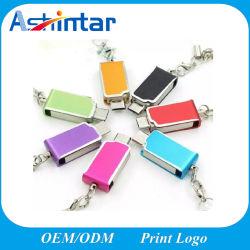 regalo de promoción de metal Mini USB teléfono USB Flash Drive