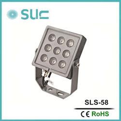 9W IP65 im Freien Garten-Aluminiumlampe des Punkt-Licht-LED