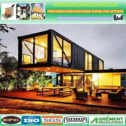 Philippinen-Haus-Stahlhaus-Rahmen-preiswertes modulare Ausgangsbewegliches Raum-Fertighaus-kleiner beweglicher Kiosk