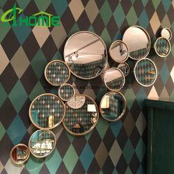 Het moderne Metaal van het Smeedijzer van de Badkamers om de Decoratieve Spiegel van de Muur