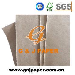 150GSM sondern seitliches überzogenes biodegradierbares wasserdichtes Braunes Packpapier für Verkauf aus