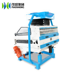 La quinoa Cassia piedra arroz separando la máquina