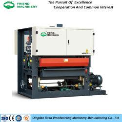 中国チンタオ速い紙やすりで磨く木製の広いベルトの磨く機械木工業機械装置