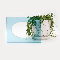 Het Gelamineerde Glas van het Mes van het water Knipsel van Diverse Vormen