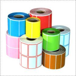Il prezzo di fabbrica che impacca il trasporto adesivo ha colorato il contrassegno termico diretto stampato