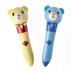 번역 기능을%s 가진 다언어 말하는 펜을 배우기를 위한 주문을 받아서 만들어진 플라스틱 독서 펜
