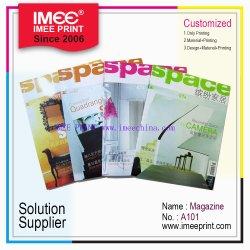 서비스 해결책 공급자 A4 색깔 잡지 (A101)를 인쇄하는 Imee 인쇄