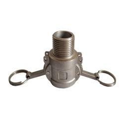 Le raccord du tuyau flexible en acier inoxydable serrure batteuse Type raccorder l'accouplement rapide