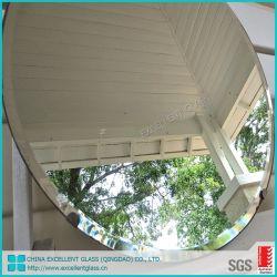 浴室の壁掛け斜めミラーのガラスによって切り分けられる木の着服ミラー