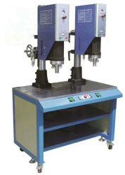 Plastikdatei-Faltblatt, das Ultraschallschweißer-Schweißgerät für pp.-Belüftung-Datei-Faltblatt herstellt