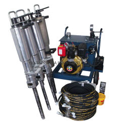 Motore diesel simile al divisore idraulico della roccia di Darda per estrazione mineraria