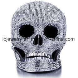 Grande cranio decorativo dell'acciaio inossidabile 316 del mestiere di qualità superiore del metallo