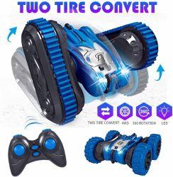 2 en 1 Dos de conversión de neumáticos 4RM RC Stunt Car Amazon Best Seller