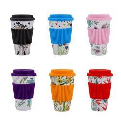 Eco-Friendly Bambooo xícara de café de fibra