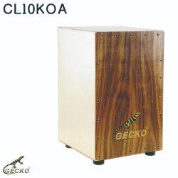 Madeira natural Cajon Gecko fabricados na China Steel String instrumentos de percussão venda quente na Amazônia